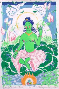 Green Gulch Green Tara